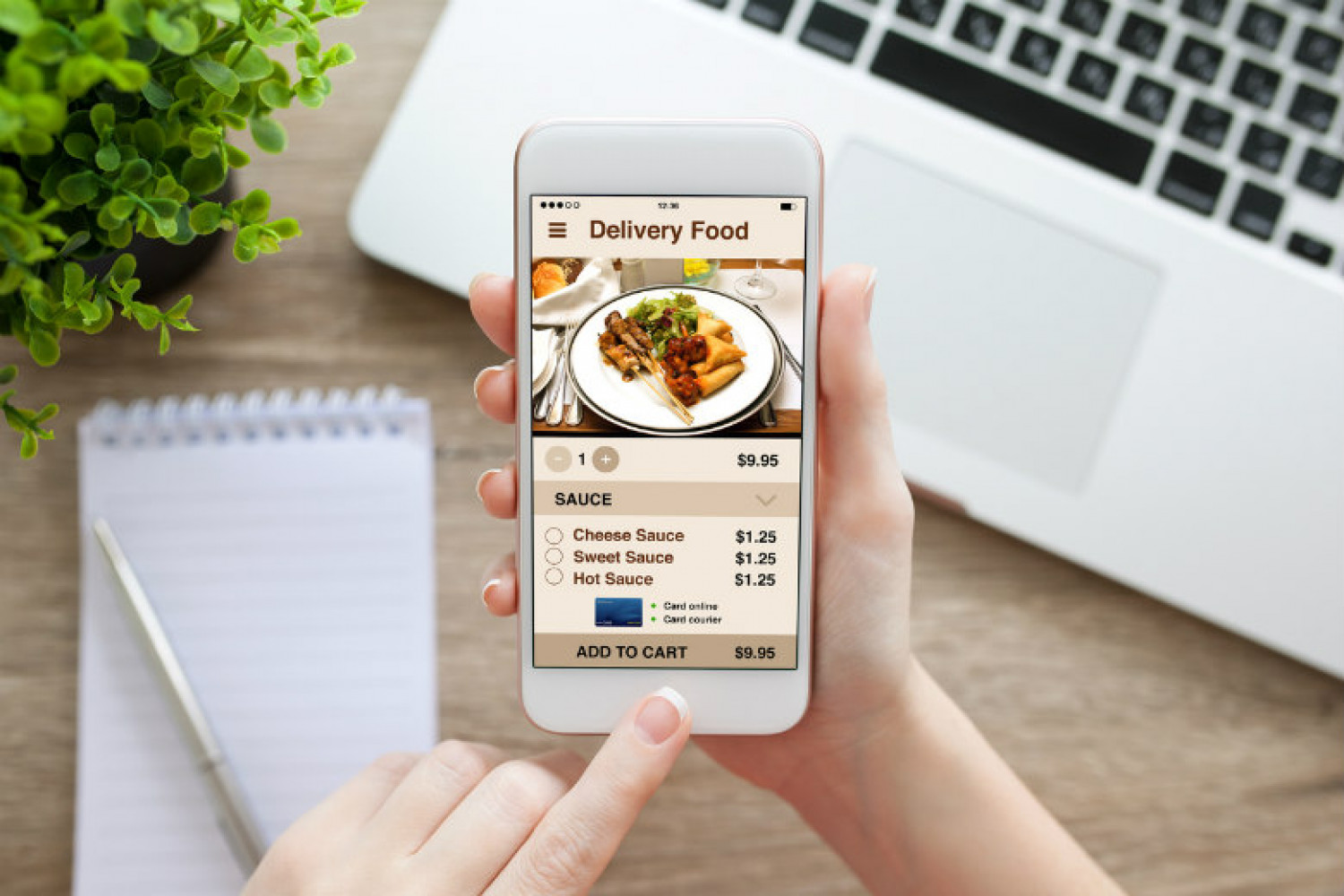 You Can Convert Your Food Business Into Food Ordering App! Infographic