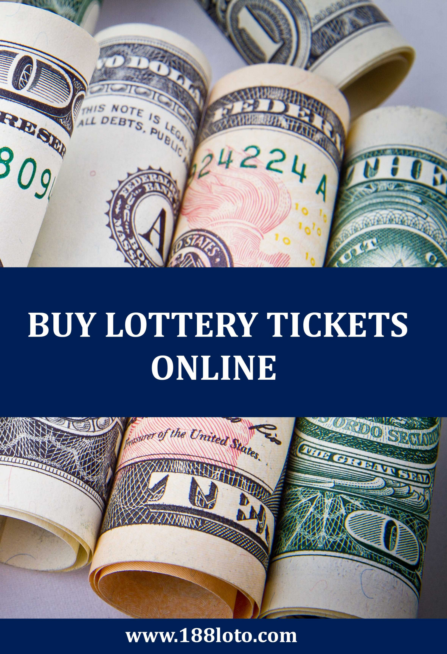 You Have to Buy Lottery Tickets to Win! Infographic