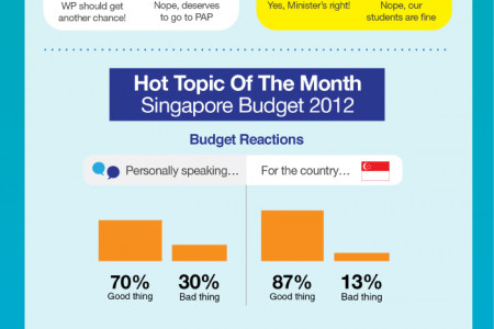 You Know Anot? Singaporean Sentiments, February 2012 Infographic
