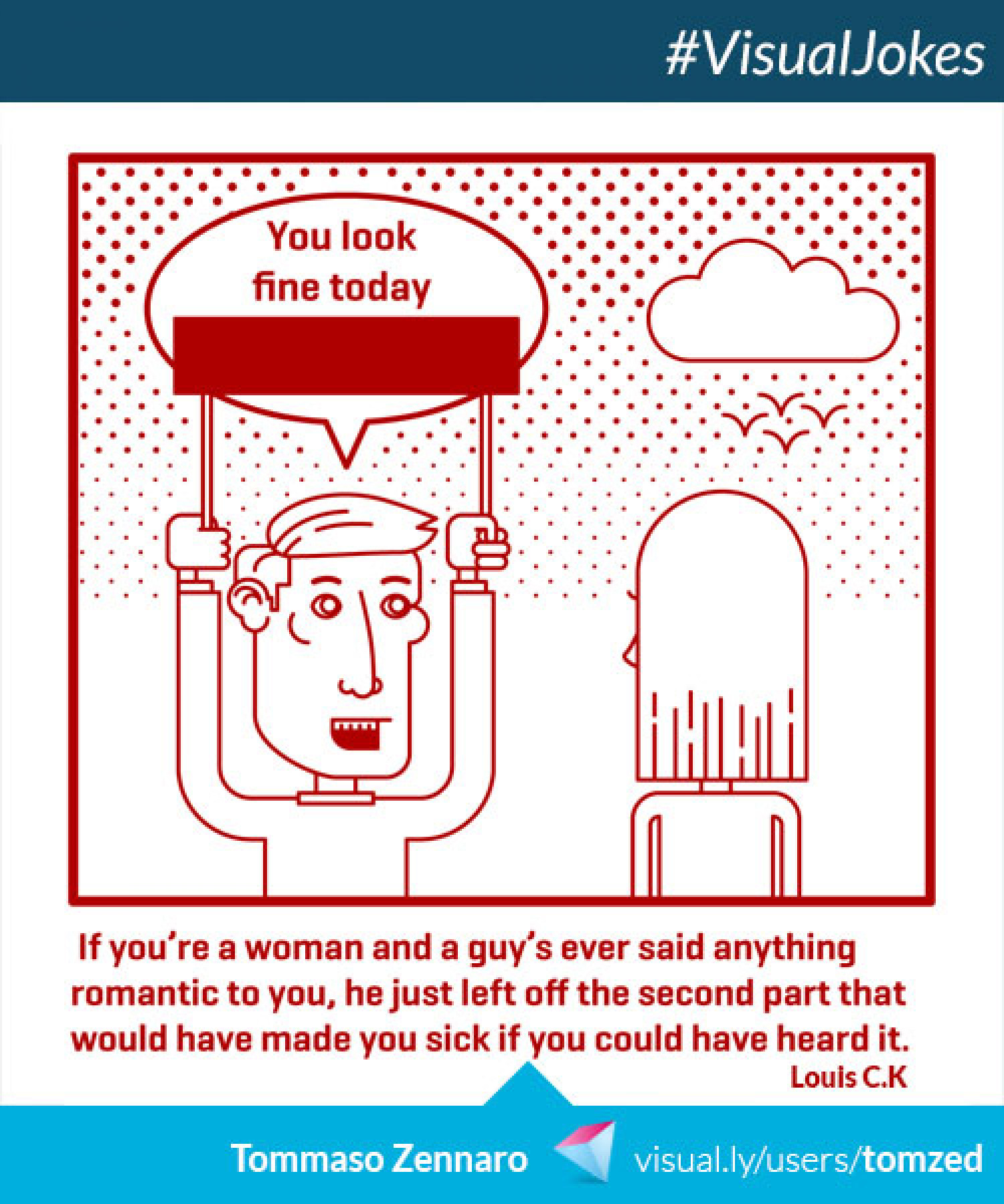 You Look Fine Today Infographic