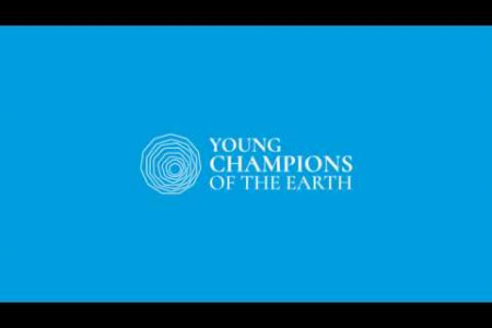 Young Champions of the Earth Infographic