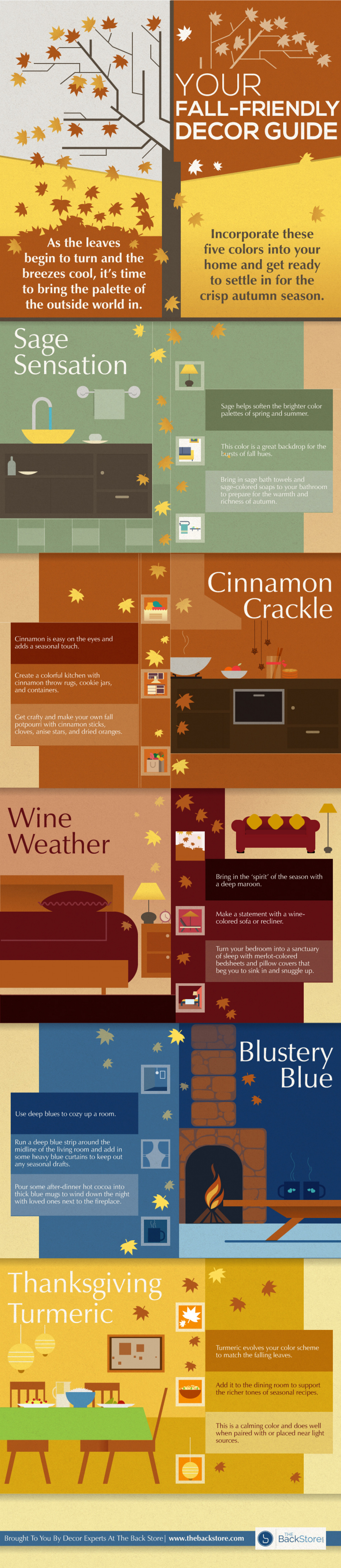 Your Fall-Friendly Decor Guide [Infographic] Infographic