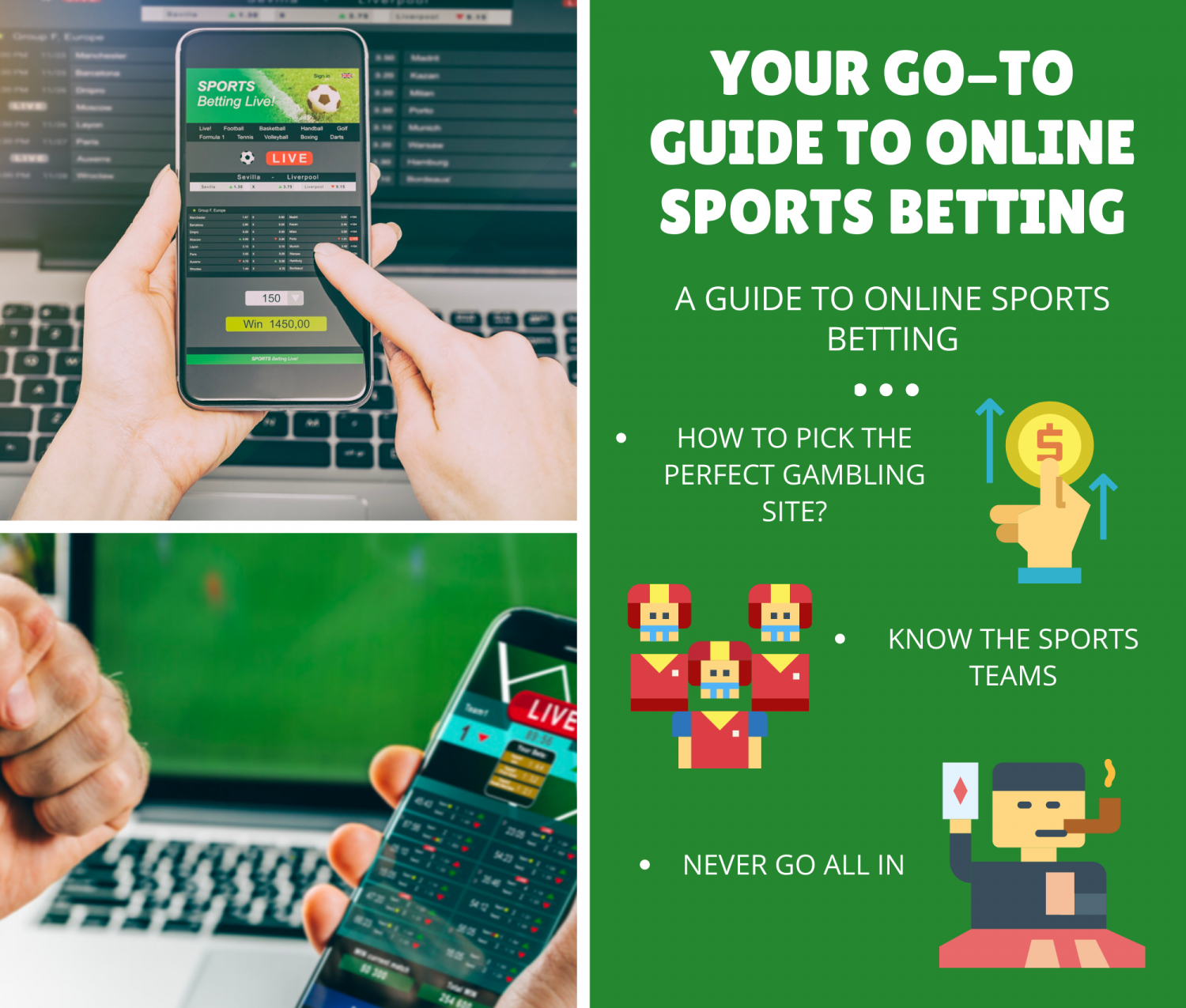 Your Go-To Guide To Online Sports Betting Infographic