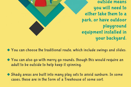 Your options for outdoor playground equipment Infographic