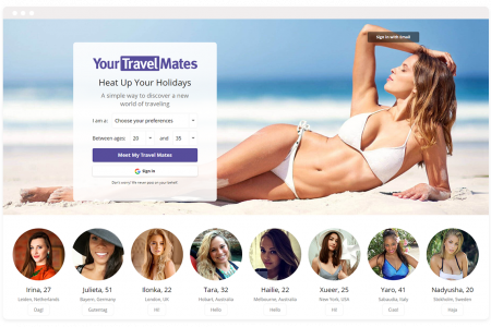 YourTravelMates - The most effective method to Meet Interesting Singles Online for Dating Infographic