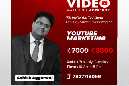 Youtube Marketing Workshop by Ashish Aggarwal Infographic