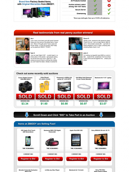 ZBiddy Reviews - Legit or Scam? Infographic