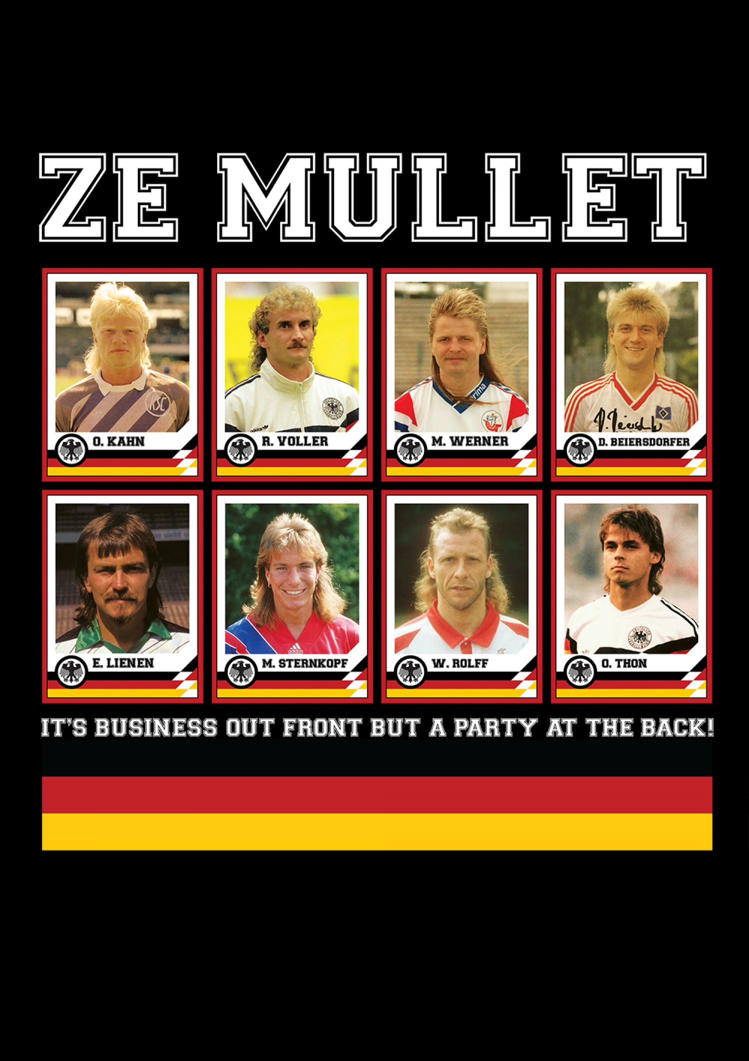 Ze Mullet Infographic